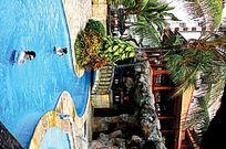 小公园浅水游泳池效果图
