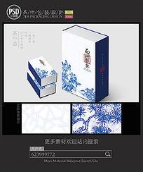 西湖龙井茶叶包装设计平面图图片