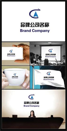 飞跃概念商业服务业标志