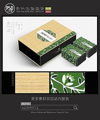 绿茶包装设计平面图图片