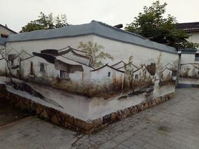 围墙装饰画