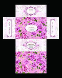 玫瑰花茶包装设计