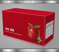 简约精美水果苹果包装快递纸箱