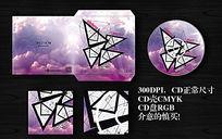 CD封套设计模板