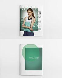 时尚女神杂志封面
