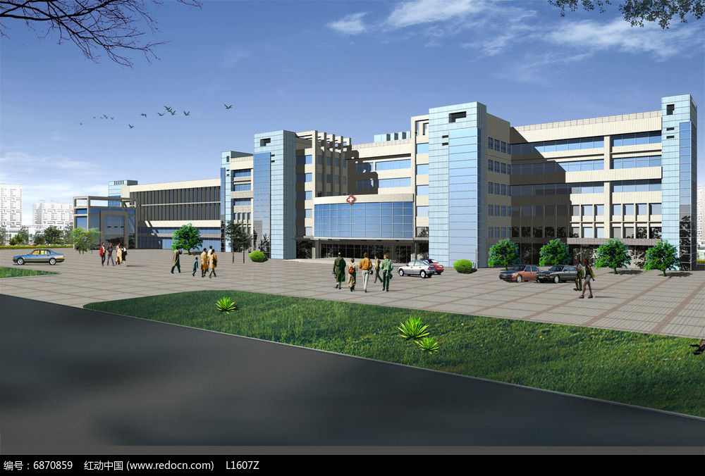 医院建筑设计效果图图片