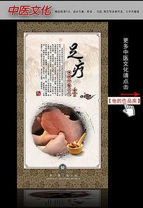 中医文化古典挂图之足疗