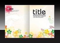 花卉创意封面设计