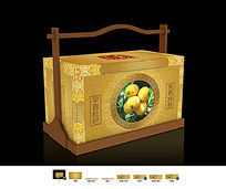 琵琶水果包装盒设计