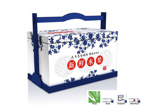 青花瓷包装盒设计
