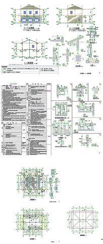 变配电房建筑CAD图