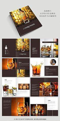 威士忌洋酒宣传画册设计