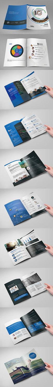大气简洁科技移动互联网微信营销画册