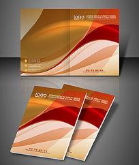 时尚动感纹理企业品牌宣传册封面