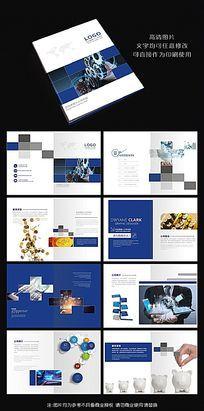 大气金融贸易数码科技公司企业画册