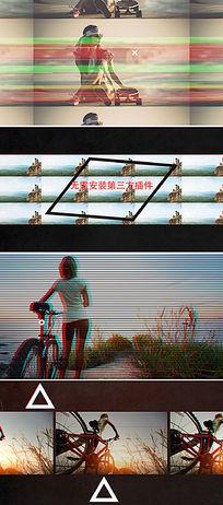 ae时尚动感节奏视频剪辑宣传片模板