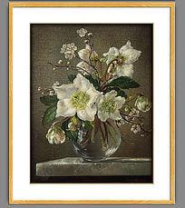 古典花卉欧式油画