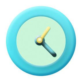 时钟小清新版icon