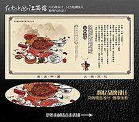 火锅文化展板