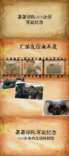 军队视频素材