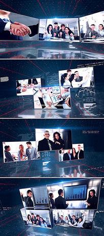 ae企业文化宣传片头模板