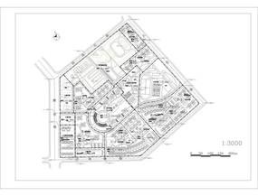 居住区规划图