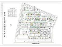 花园小区总平面图