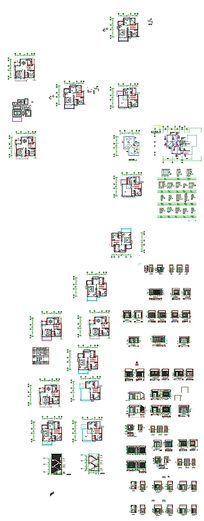 家居装饰平立面图