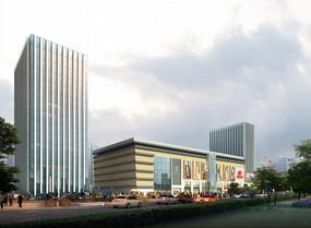 商业中心建筑群设计