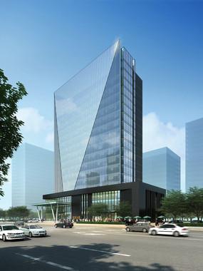 现代商业建筑 PSD