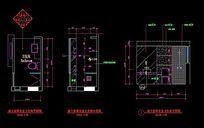 地下室卫生间施工三视图