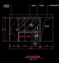 地下室走道立面造型图