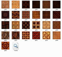 木质瓷片25款