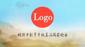 中秋节送祝福宣传答谢AE模板