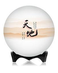 普洱茶饼包装设计中国风饼纸