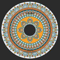 新古典花纹光盘