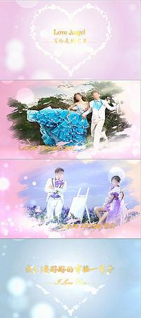浪漫温馨婚礼照片展示会声会影x8