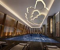 室内休闲游泳池