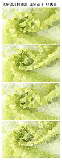 抽象绿色花朵背景