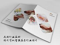 影楼婚礼画册封面indd源文件下载