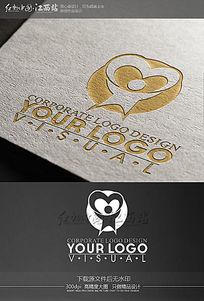 创意关爱儿童学校教育行业logo标志设计