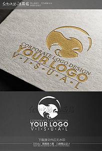 创意海豚海洋企业logo设计