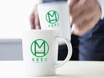 绿色餐饮logo