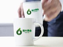 绿色水果logo