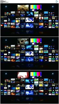 演播室视频墙背景视频素材