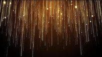 粒子直线星星颁奖视频素材