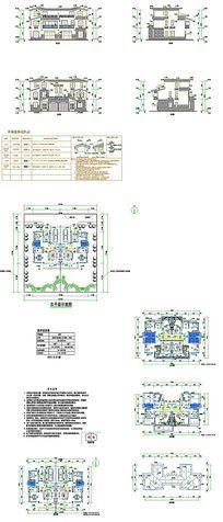 别墅建筑设计CAD图