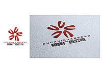 红色绽放广告公司logo
