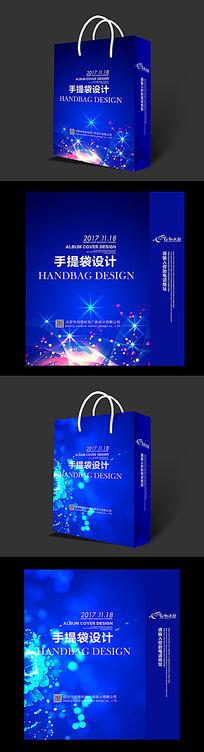 数码电器手提袋设计