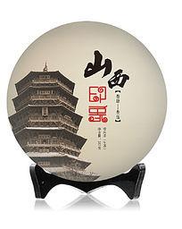 茶叶棉纸普洱茶饼包装设计